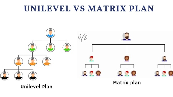 unilevel v/s matrix plan