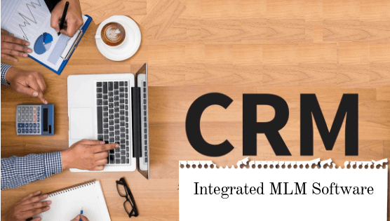 CRM integrated MLM software