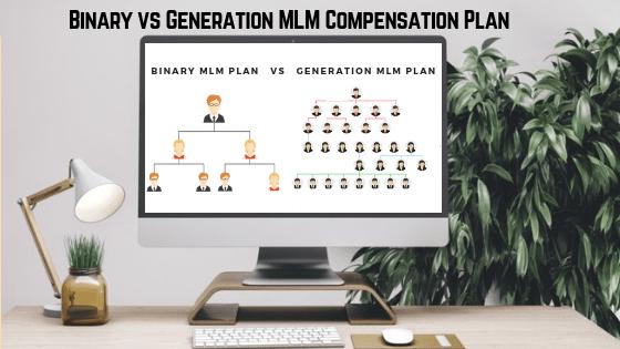Binary vs Generation MLM Compensation Plan